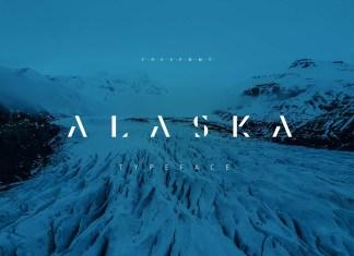 Alaska Display Font