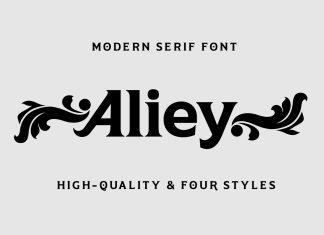 Aliey Serif Font