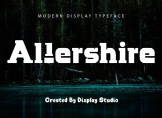 Allershire Slab Serif Font