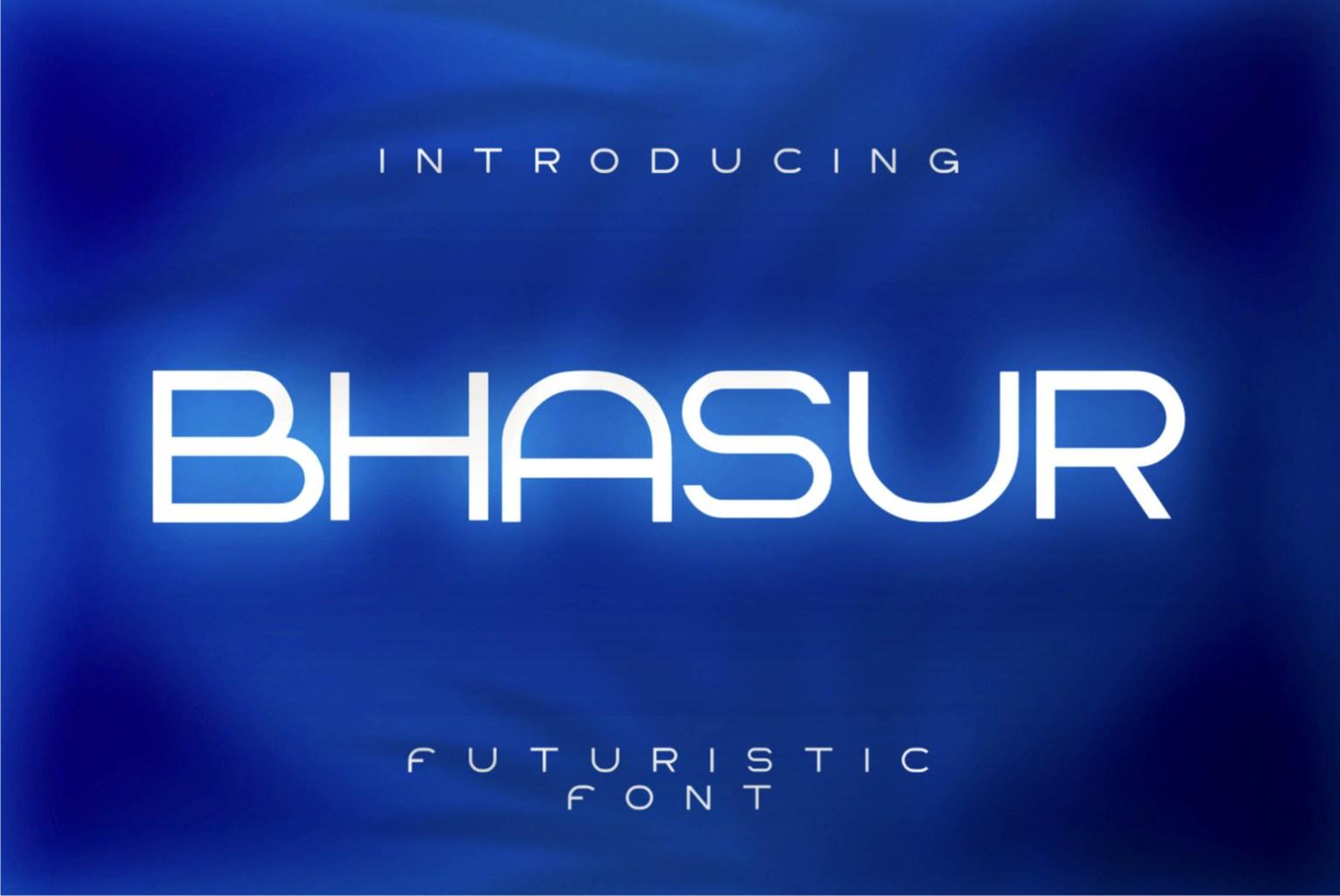 Bhasur Sans Serif Font