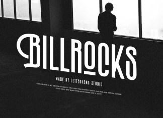 Billrocks Display Font