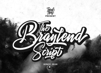 Braylend Script Font