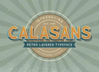 Calasans Display Font