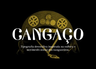 CANGAÇO Display Font