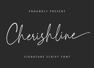 Cherishline Handwritten Font