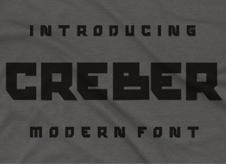Creber Display Font