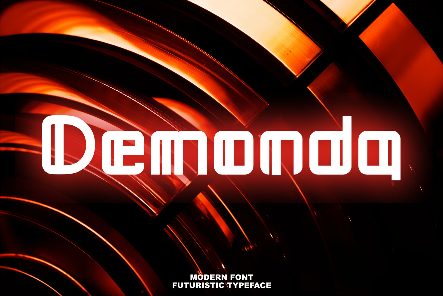 Demonda Display Font