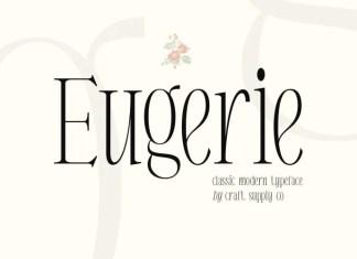 Eugerie Serif Font