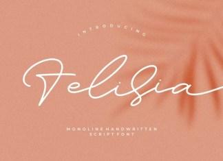 Felisia Script Font