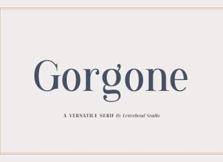 Gorgone Serif Font