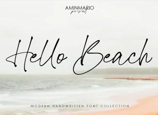 Hello Beach Handwritten Font