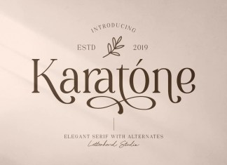 Karatone Serif Font