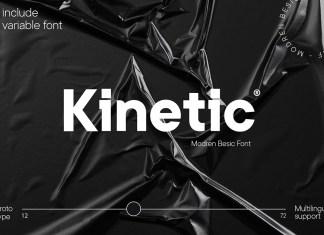 Kinetic Sans Serif Font