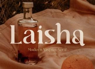 Laisha Serif Font