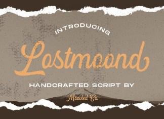 Lostmoond Script Font