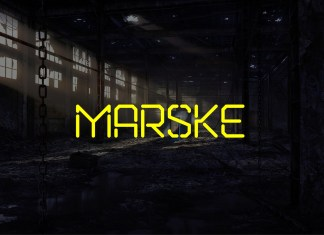 Marske Display Font