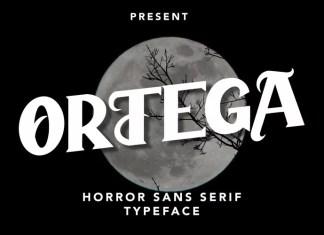 Ortega Serif Font