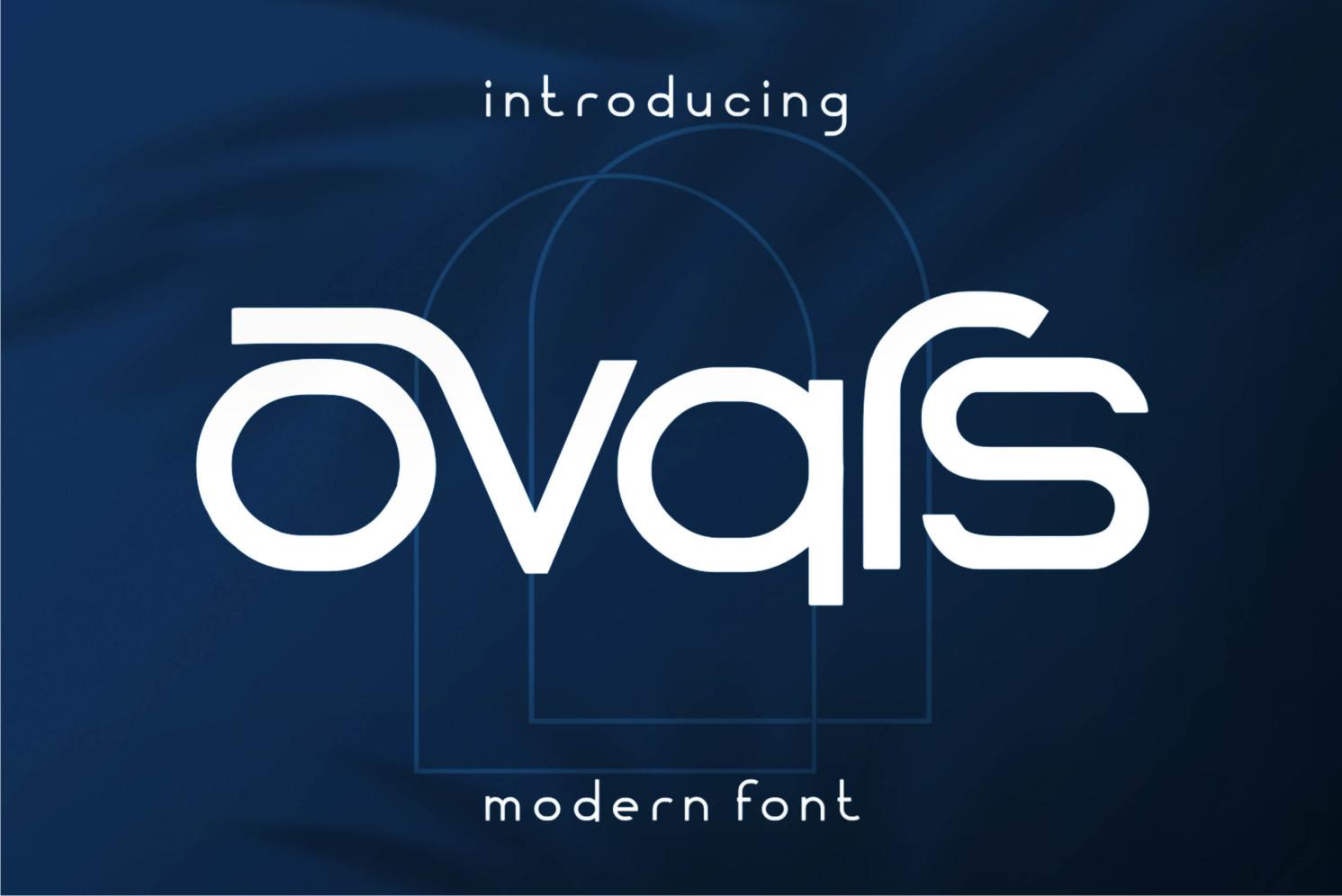 Ovars Font
