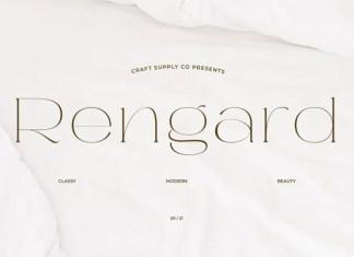 Rengard Serif Font
