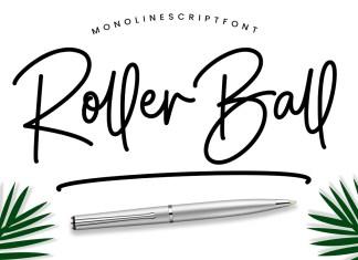 Roller Ball Handwritten Font