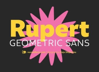 Rupert Sans Serif Font