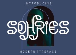 Sohries Display Font