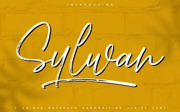 Sylwan Script Font