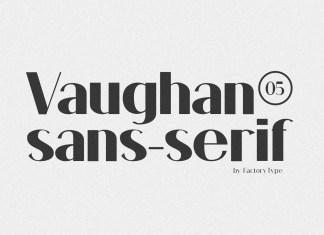 Vaughan Sans Serif Font