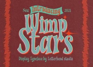 Wimp Stars Display Font
