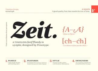 Zeit Serif Font