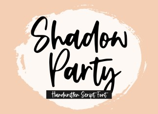 Shadow Party Script Font