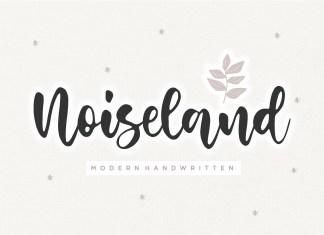 Noiseland Handwritten Font