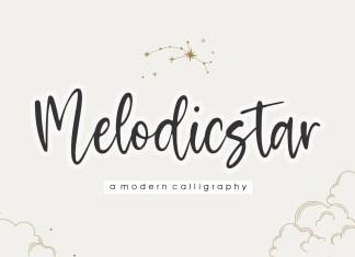 Melodicstar Script Font