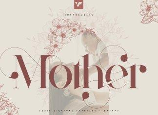 Mother Serif Font