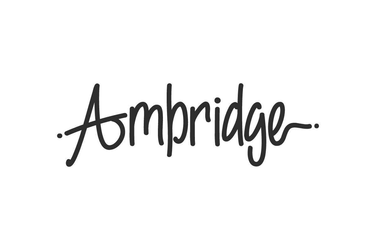 Ambridge Script Font