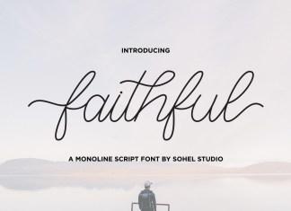Faithful Script Font