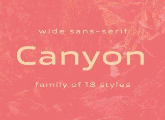 Canyon Sans Serif Font