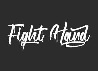 Fight Hard Script Font