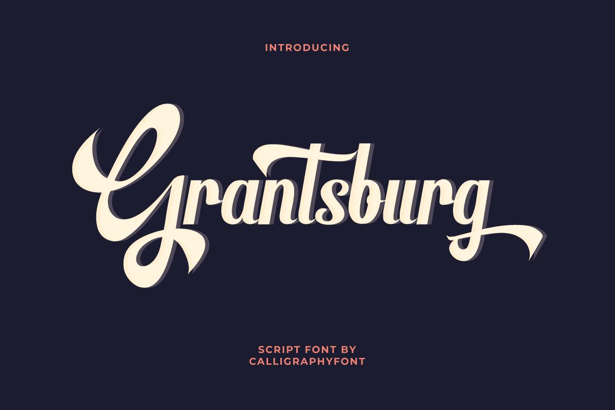 Grantsburg Script Font