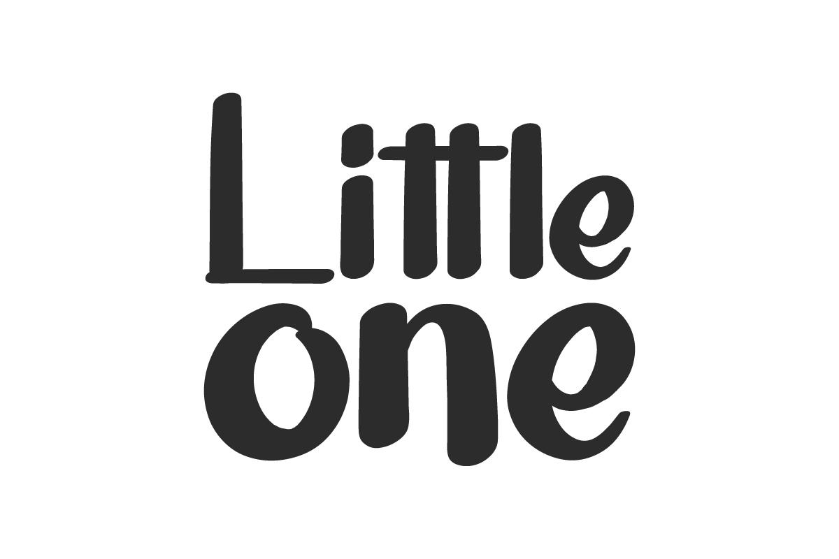 Little One Brush Font