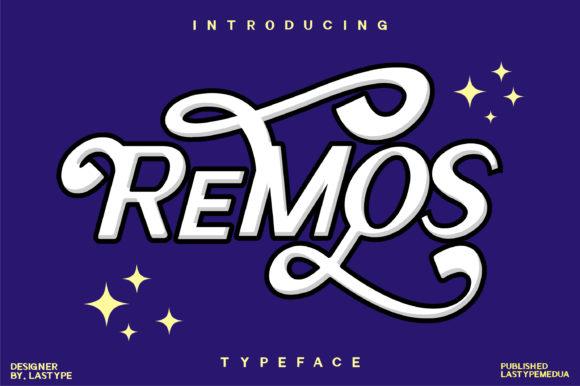 ReMoS Display Font