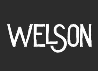 Welson Display Font