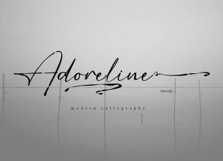 Adoreline Script Font