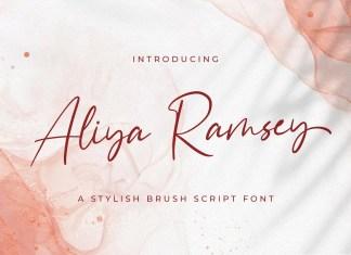 Aliya Ramsey Script Font