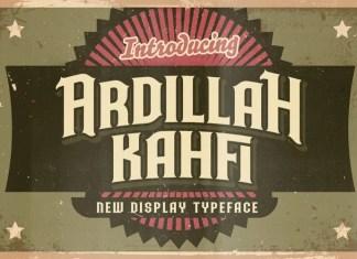 Ardillah Kafi Blackletter Font