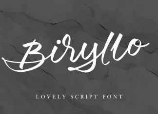 Biryllo Script Font
