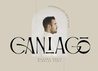 Caniago Serif Font