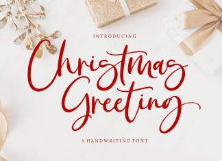 Christmas Greeting Script Font