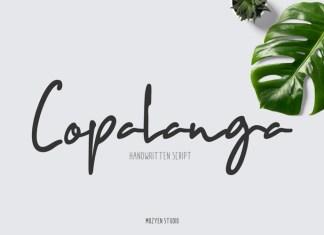Copalanga Handwritten Font