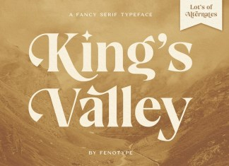 King's Valley Serif Font